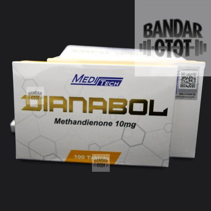 Jual MEDITECH Dianabol 10mg x 100 tab Methandienone 100tab Dbol Medi Tech -  Jakarta Barat - BANDAR OTOT | Tokopedia