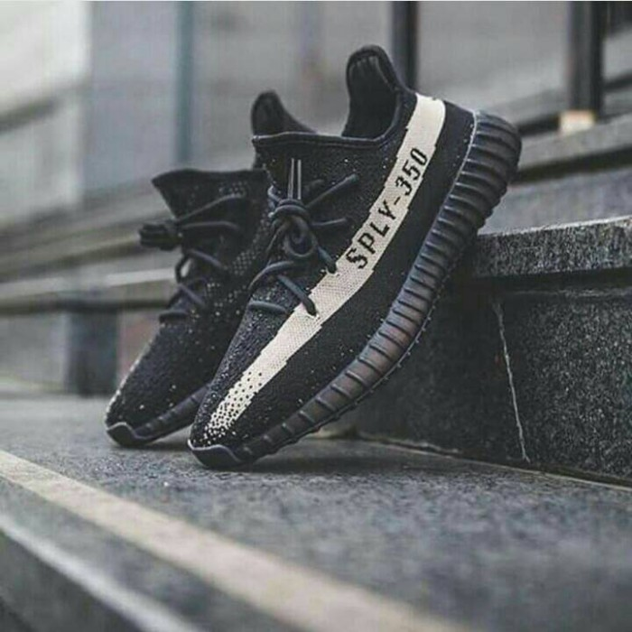 harga Adidas yeezy boost v2 350 black cream / sepatu casual running / yezzy Tokopedia.com