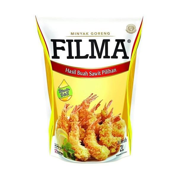 harga Filma minyak goreng refill pouch 2 lt Tokopedia.com