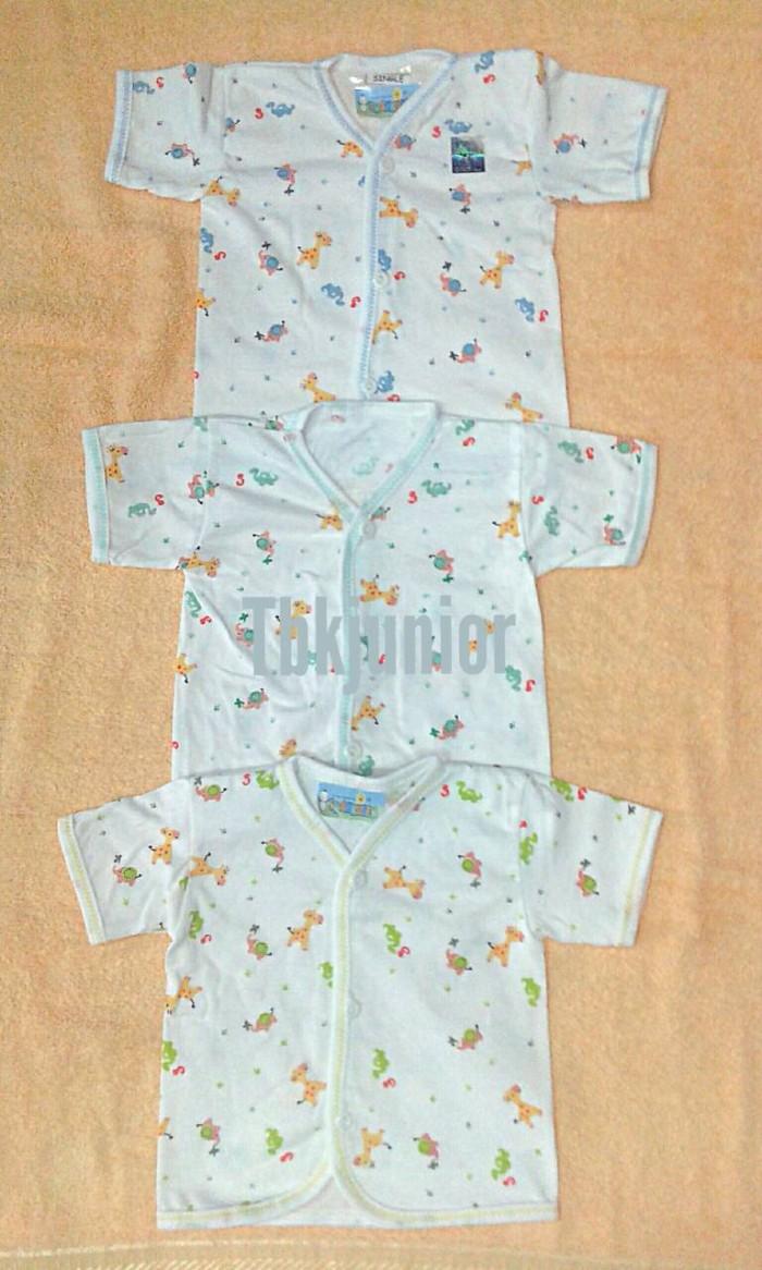 Baju atasan bayi baru lahir/new born lengan pendek SHANKUSEN ber SNI