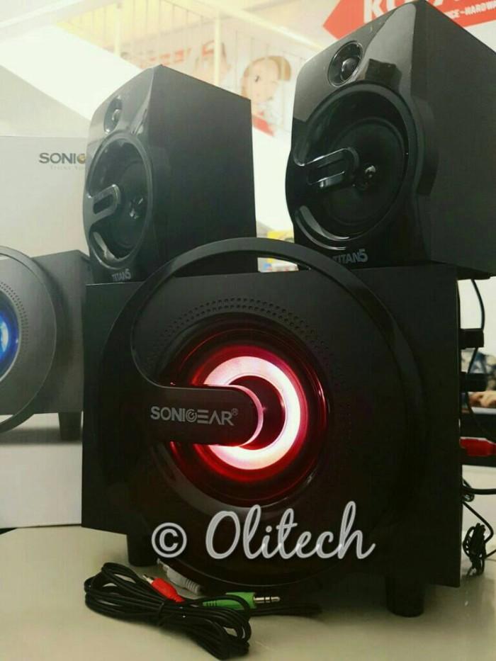 harga Speaker sonicgear titan 5 btni (bluetooth fm micro sd aux) Tokopedia.com