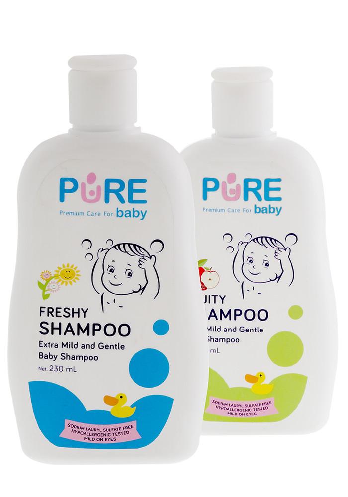 harga Shampoo freshy pure baby shampo bayi 230 ml Tokopedia.com