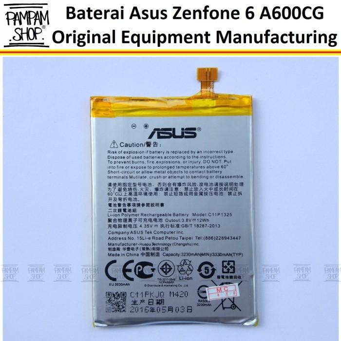 harga Baterai handphone asus zenfone 6 a600cg 6  inch original | inci batre Tokopedia.com