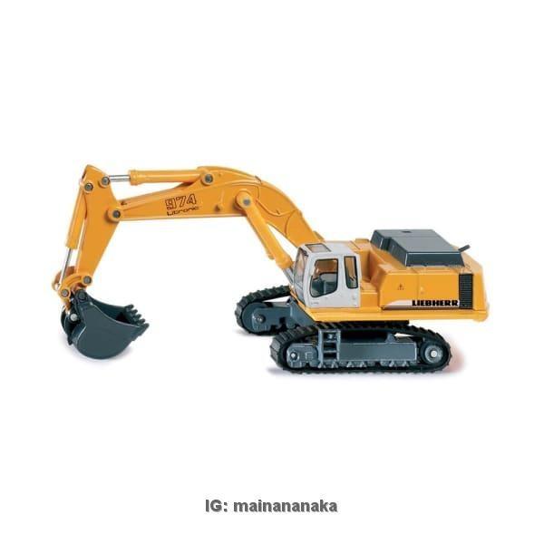 harga Miniatur/pajangan diecast truck/truk/traktor siku hydraulic excavator Tokopedia.com
