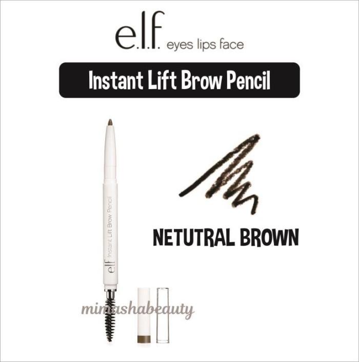 elf eyebrow pencil taupe. elf e.l.f instant lift brow pencil - neutral brown elf eyebrow taupe m
