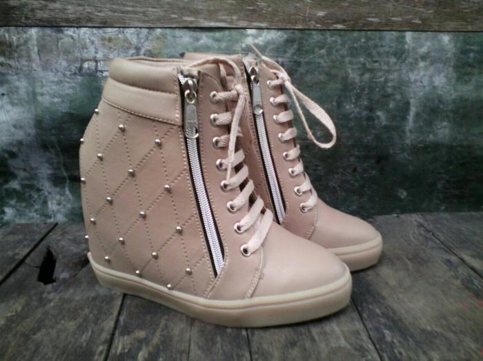 harga Sepatu wanita sneaker wedges Tokopedia.com