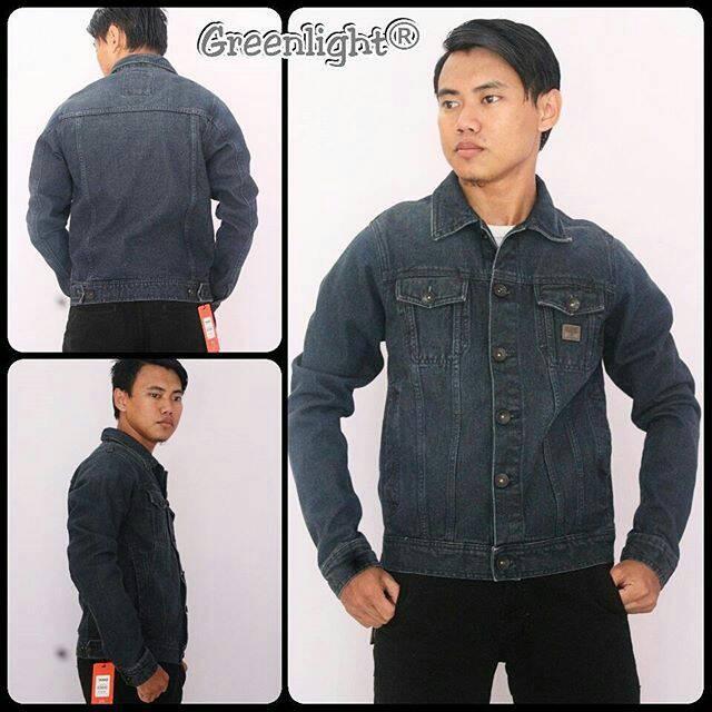 Jaket jeans Original Greenlight/Jaket jeans Pria