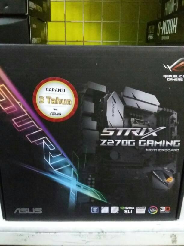 harga Asus z270g strix gaming (kabylakeddr4lga 1151) Tokopedia.com