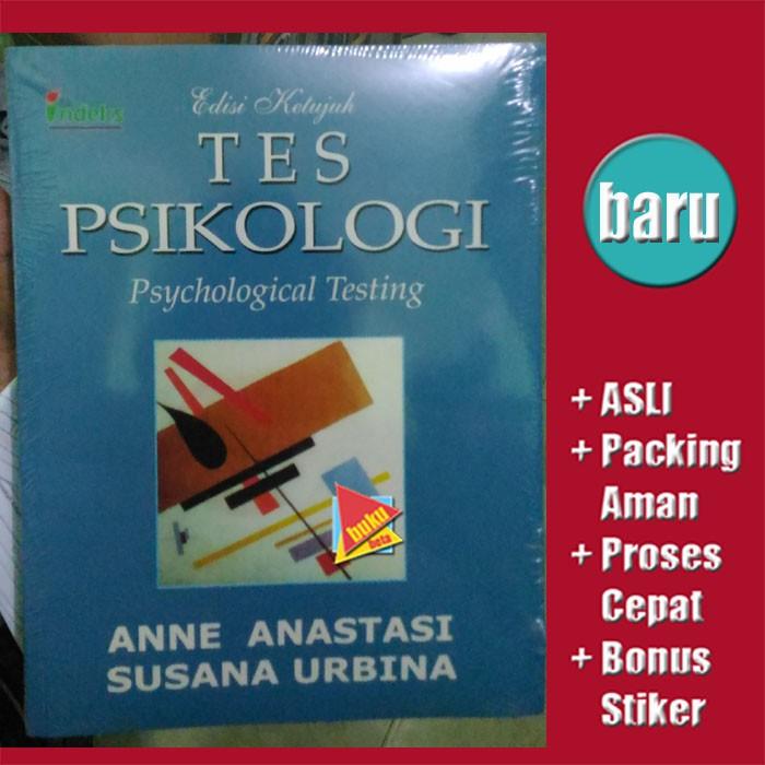 Tes Psikologi (Edisi 7) - Anne Anastasi, Susana Urbina Berkualitas