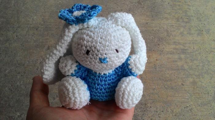 Amigurumi Boneka : Jual boneka rajut kelinci crochet amigurumi rabbit esa
