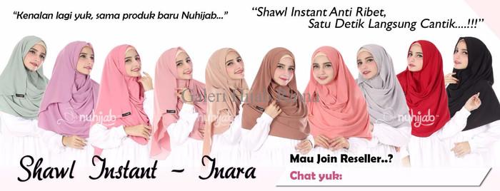 Foto Produk Shawl Instant Inara by Nuhijab dari galeri hijab rinna