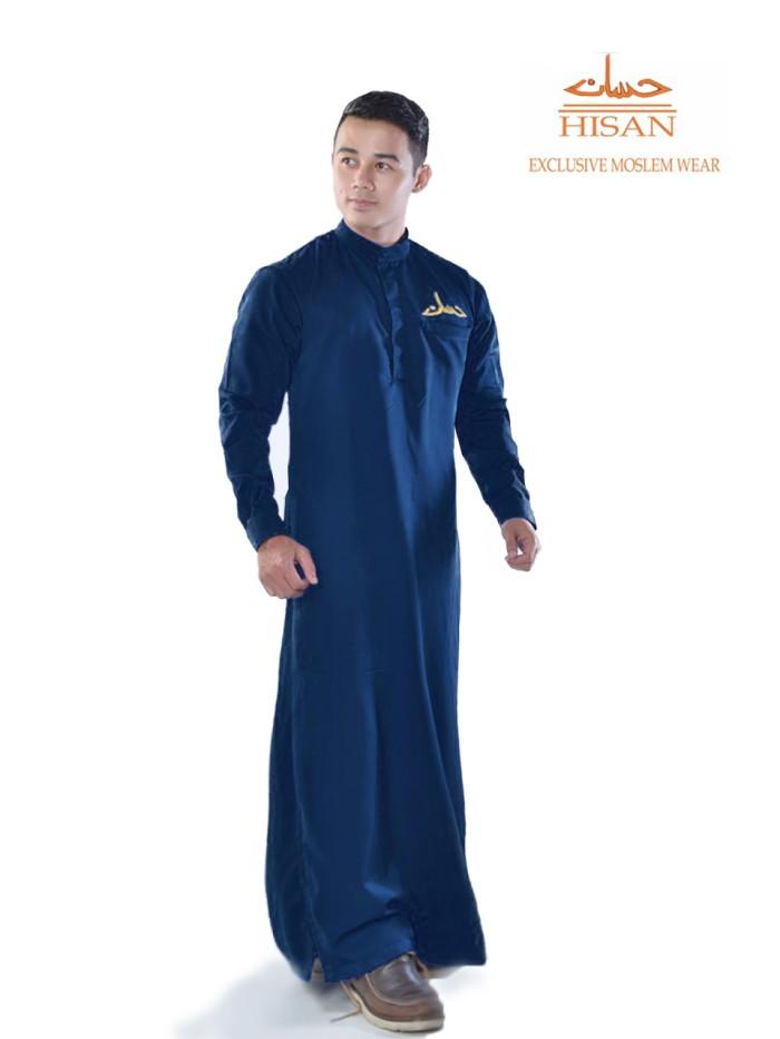 Jual Jubah Pria Gamis Pria Eksklusif Model Slim Fit Bahan Linen