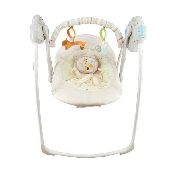 Baby Elle Portable Swing Electric - Cream | 06x71 Murah