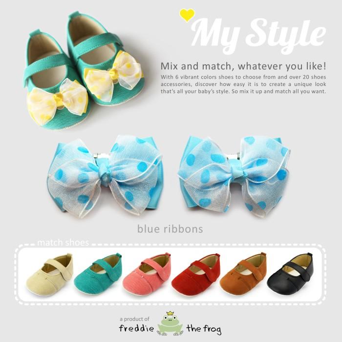 harga Prewalker - sepatu bayi | freddie the frog | my style ribbons series