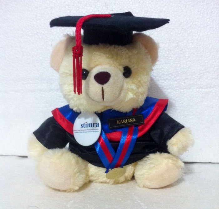 Jual Boneka Wisuda Teddy Bear Cream  871238400e