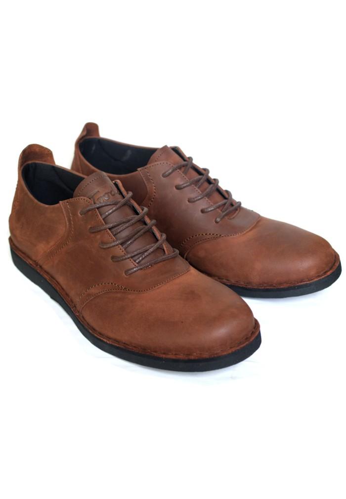 Foto Produk SEPATU KULIT TOODS SPECTRE BROWN   TOODS FOOTWEAR  SEPATU PRIA dari Toto_Suryo