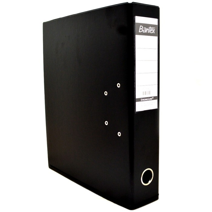 Foto Produk Ordner Bantex 1450-10 (BLACK) A4 7 cm dari officemart