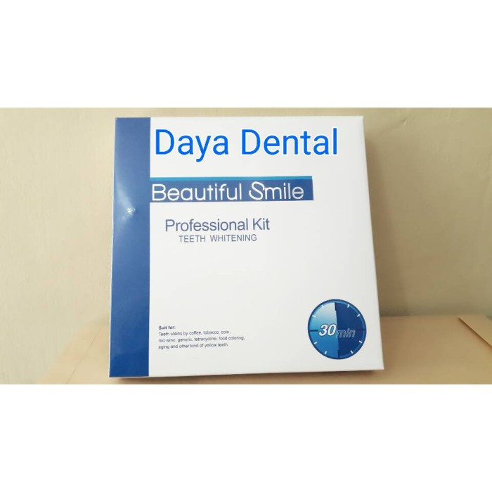 Jual Dental Bahan Bleaching Gigi Pemutih Gigi Whitening Teeth Bahan