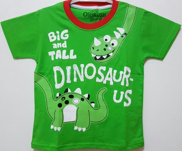 harga Kaos anak size 1-6 oshkosh dinosaurus kaos anak karakter murah Tokopedia.com