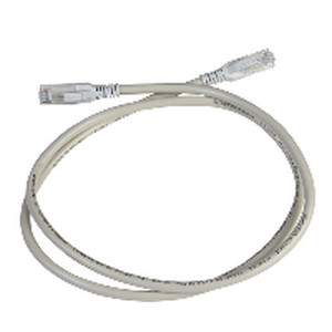 Kabel Patch Cord Cat 5e UTP 1M Grey, Digilink DCEPCURJ01GYM