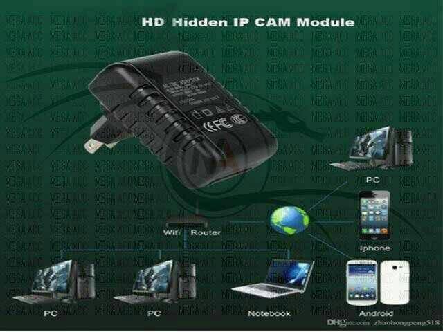 camera/kamera /ipcam /spy cam UFO STOP KOTAK-WIFI FULL HD #