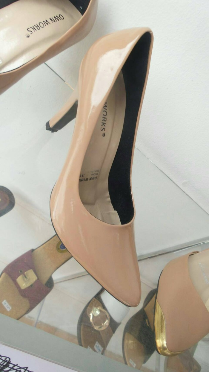Stiletto high heels own works - nude colour 7cm &9cm