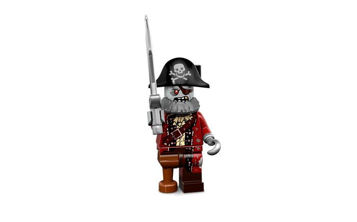 harga Lego Minifigure Series 14 - Zombie Pirate Tokopedia.com