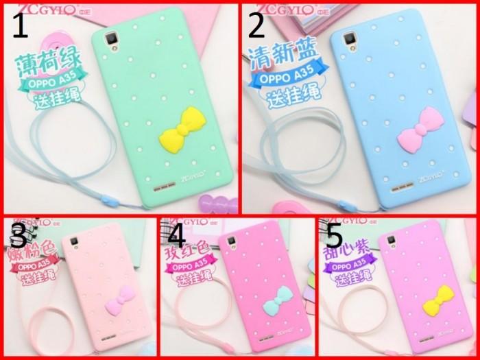 harga Bow silicone case oppo r7s / oppo neo 7 a33 soft back case tpu cover Tokopedia.com