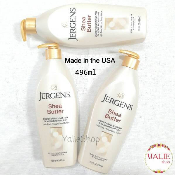 Jergens Shea Butter ASLI 496ml (Made in USA) (ASLI IMPORT)