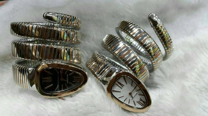 harga Jam tangan wanita unik - jam tangan bvlgari bulgari ular keren mewah Tokopedia.com