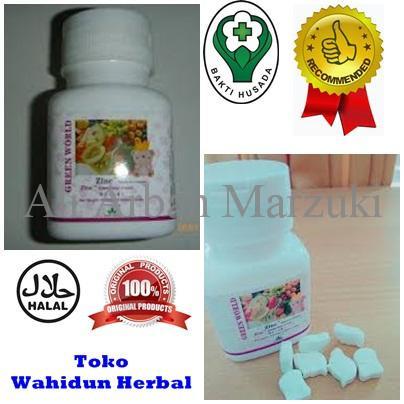 Jual Aman Zinc Tablet For Child Obat Memacu Pertumbuhan Anak