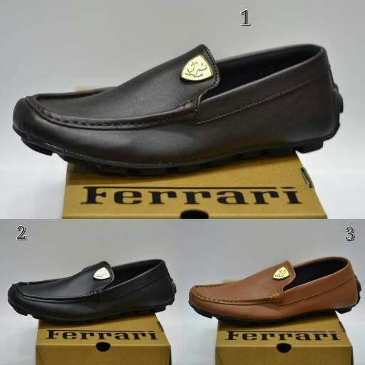 harga Ferrari slip on/sepatu slop/slop pria/sepatu slop murah/sepatu slip on Tokopedia.com
