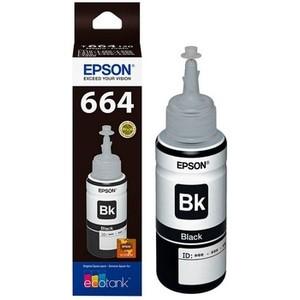 Tinta botol original epson black ink t6641