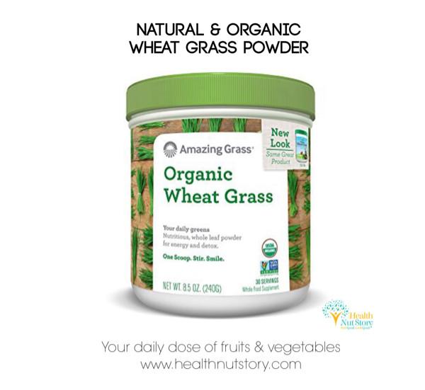 harga Amazing grass organic wheat grass 240gr - non gmo, vegan, gluten free Tokopedia.com