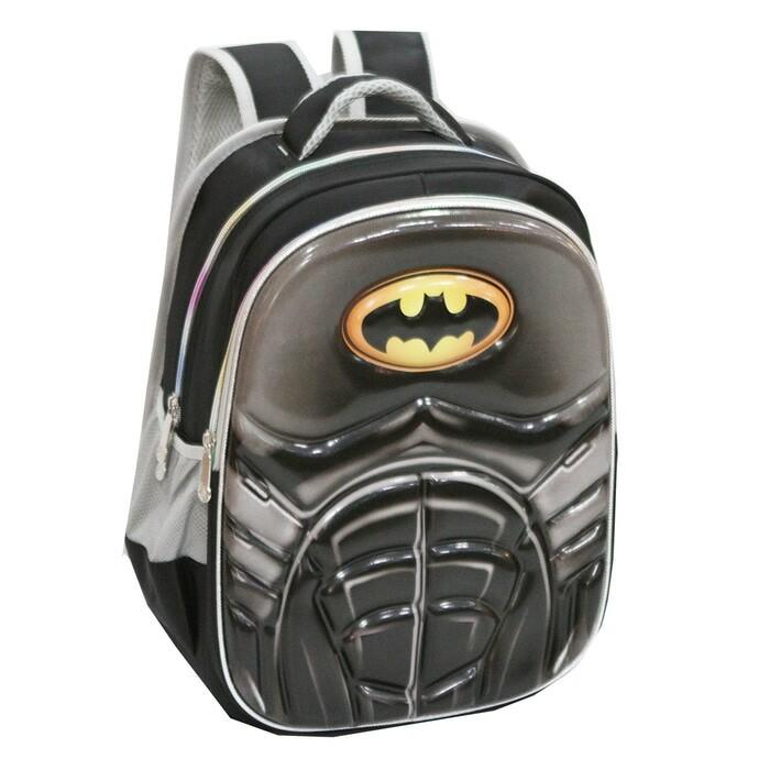 Jual Tas Ransel Import Anak SD Batman 6D Soft Hard Cover Timbul ... 0272bf6467