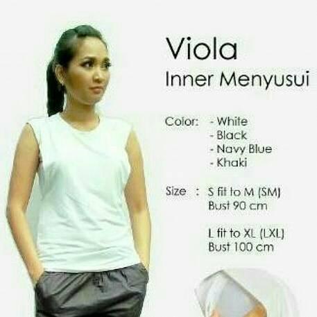 Inner Menyusui / Manset Menyusui Justmom Viola warna putih