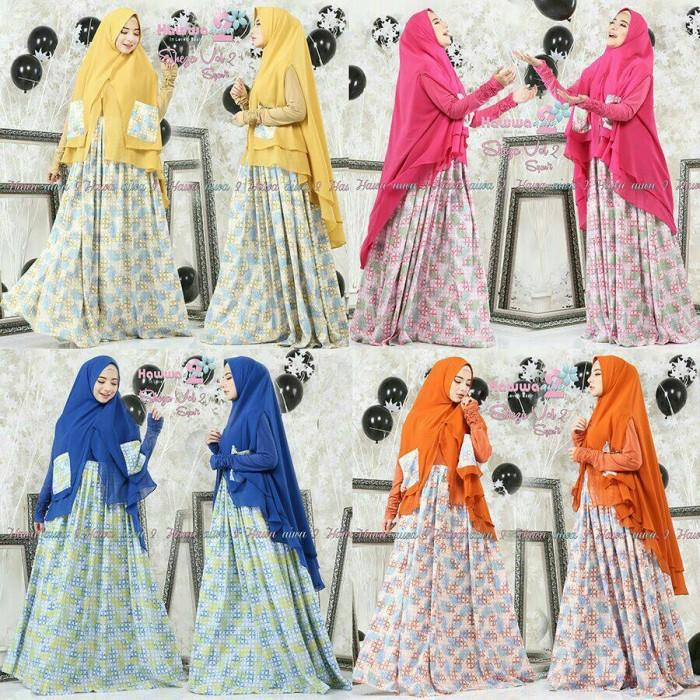 Jual Sheza By Hawwa Aiwa Busana Muslim Gamis Syar I Dress Jakarta Pusat Rumah Pelangiku Tokopedia