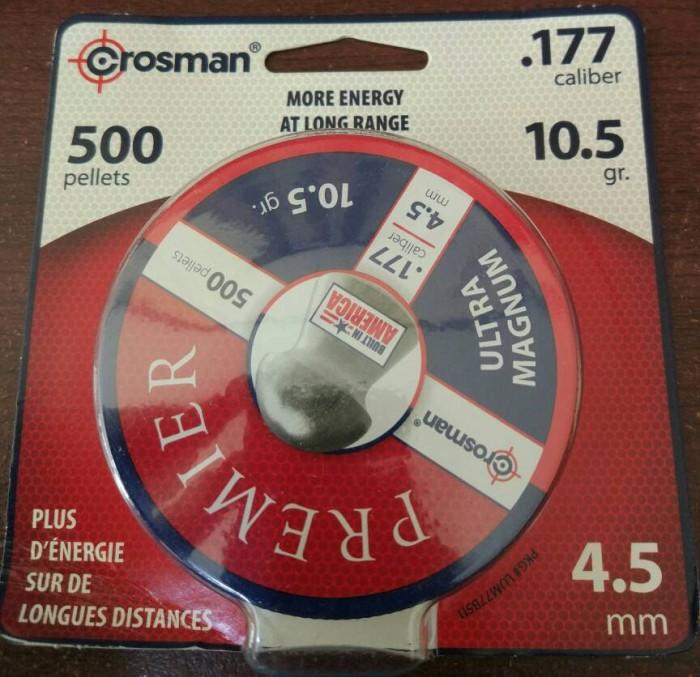 harga Mimis crosman premier ultra magnum .177 4.5 mm 10.5 Tokopedia.com