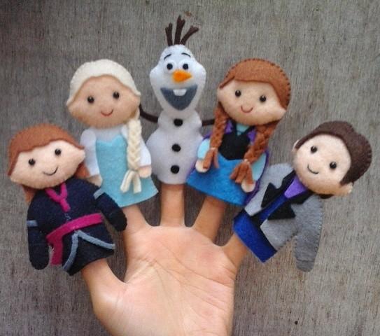 Jual Boneka jari Frozen - Crafelta Handmade  219bde27ce