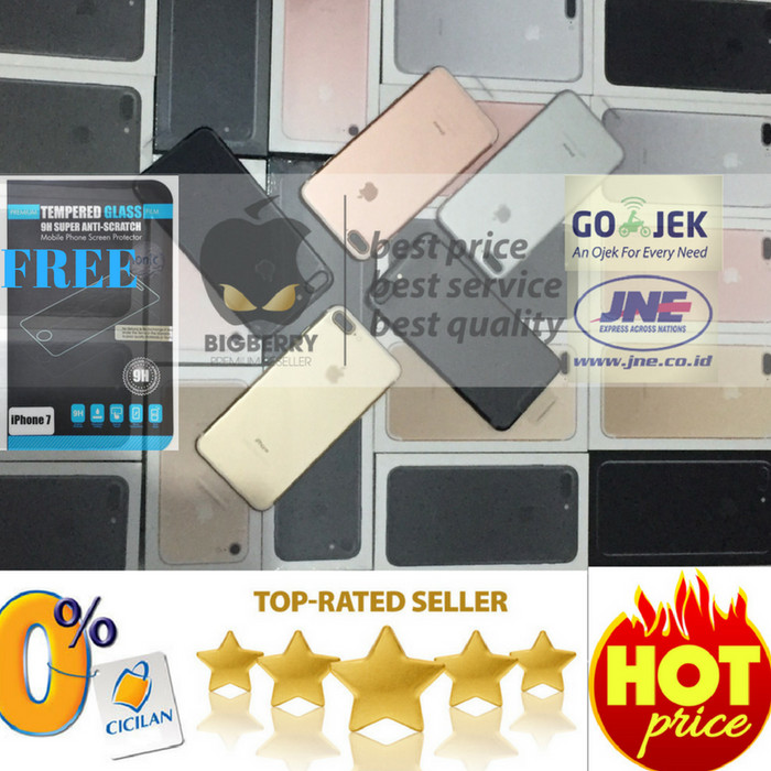 harga (free tempered) iphone 128gb 7 rose gold bnib garansi apple inter ori Tokopedia.com