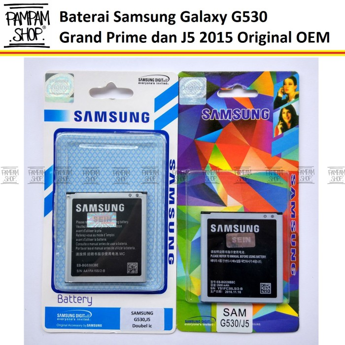 harga Baterai handphone samsung galaxy grand prime g530 g530h original