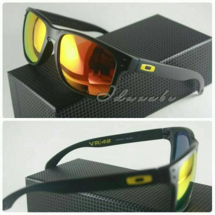 ... harga Kacamata oakley holbrook vr 46 black fire kacamata pria polarized  gaya Tokopedia.com 024b1f00e5