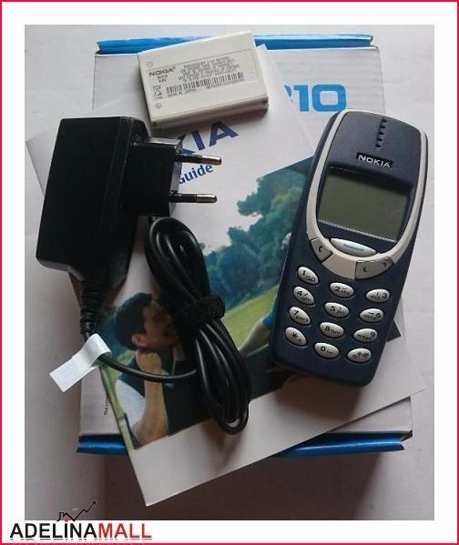 harga [diskon] nokia 3310 dark blue   nokia jadul ori   hp jadul murah [ori] Tokopedia.com