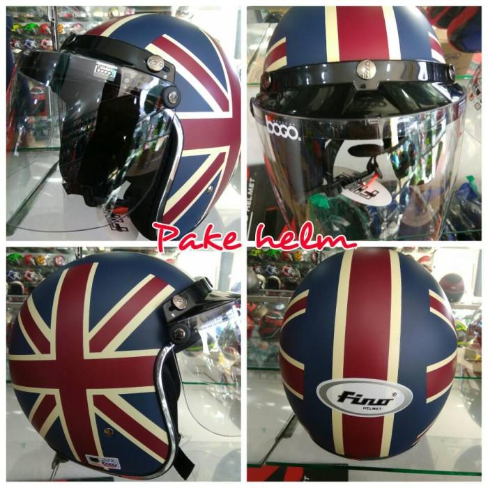 harga Helm bogo helm retro helm pilot fino british Tokopedia.com