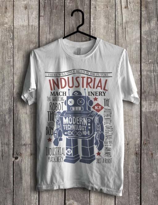harga Kaos tin robot vintage mainan robot kaleng jadul retro putih(s - xxl) Tokopedia.com