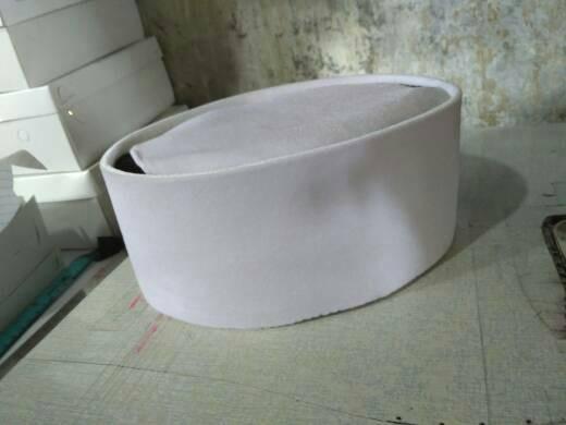Foto Produk peci songkok putih tinggi 11 cm dari toko si pitung