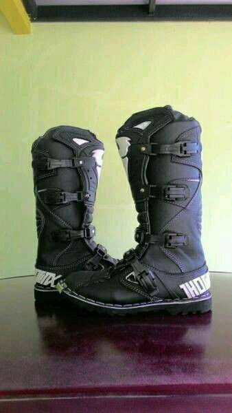 harga Sepatu cross trail thor mx hitam Tokopedia.com