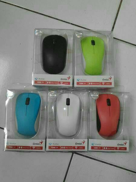 Foto Produk Mouse Wireless Genius NX - 7000 100% Original dari SinarBaruStore