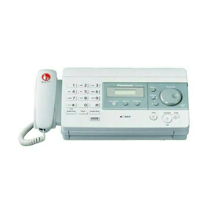 harga Panasonic kx-ft 503 thermal paper - mesin fax/faximili Tokopedia.com