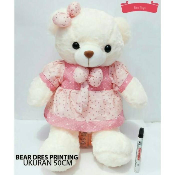 Jual Boneka Teddy Bear Cantik - Sion Toys  fca4488007